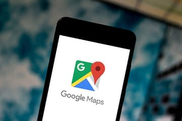 Mode Penyamaran Google Maps versi iOS