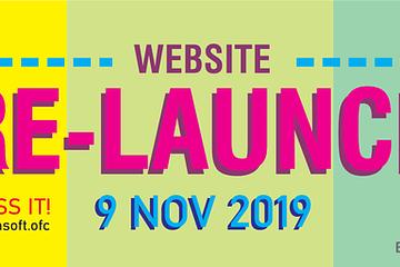 re-launching website