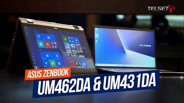 Duo Laptop Asus ZenBook dengan CPU AMD Ryzen