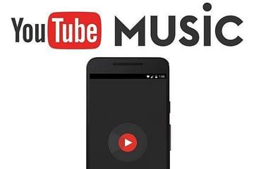 Youtube music versi mobile dan versi dekstop